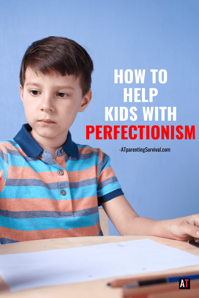 In this week's youtube video I talk to kids about how to handle perfectionism so it doesn't hold them back.