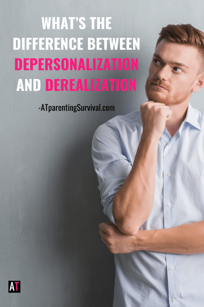 What's the difference between depersonalization and derealization? I explore that and what to do about those issues in this video