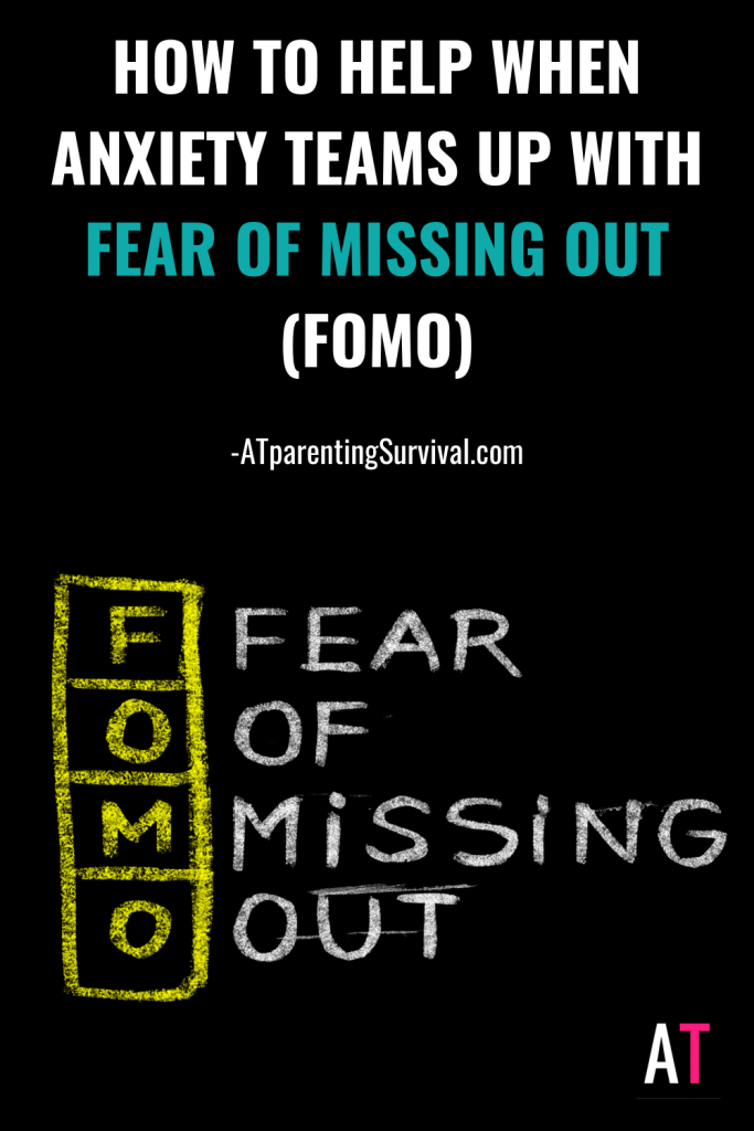 In this week's Youtube video for kids and teens, I discuss how FOMO can grow anxiety and what to do when it happens.
