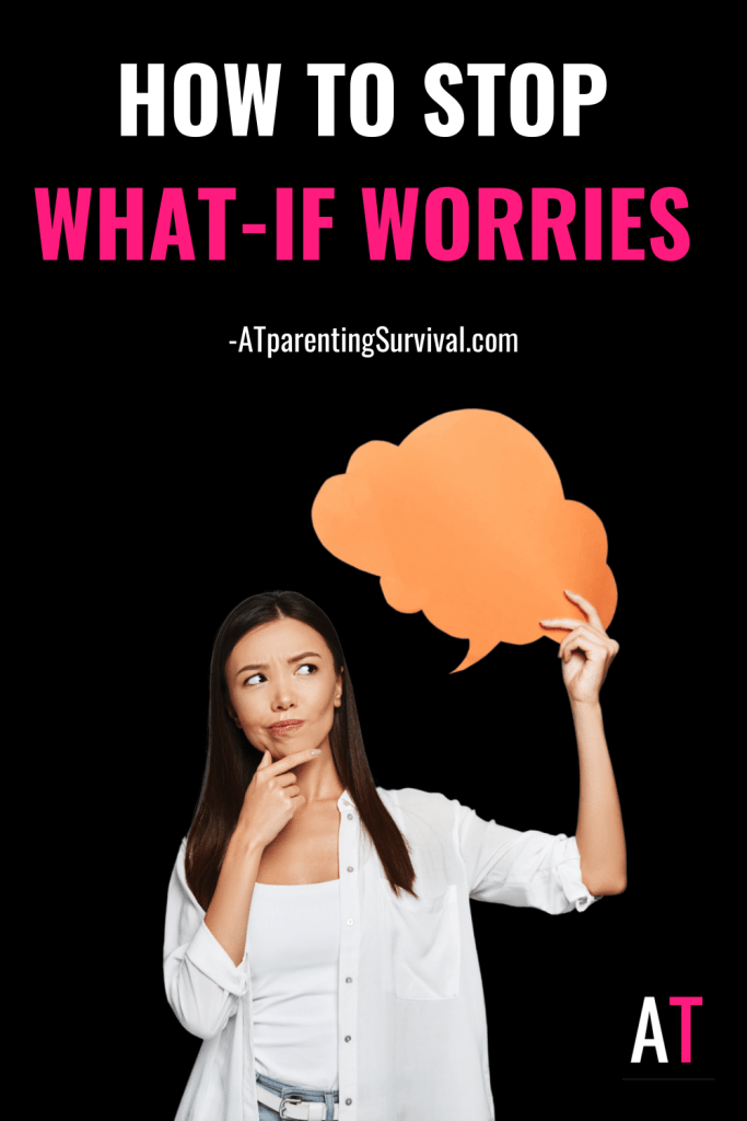In this week's Youtube video I talk about how to stop what-if worries in their tracks and begin living a more fulfilling life.