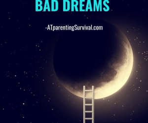 How to Help Our Kids & Teens Handle Bad Dreams