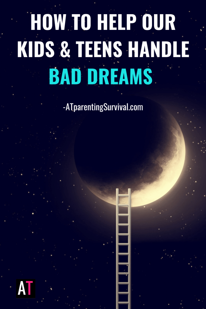In this week's Youtube video I talk about how to handle bad dreams, what to do when you wake up from a bad dream and how to prevent bad dreams from happening.