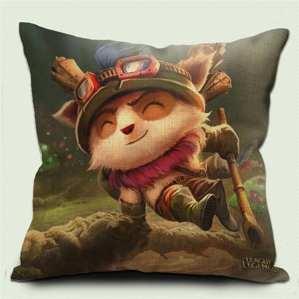 League of Legends Teemo Pillow 01