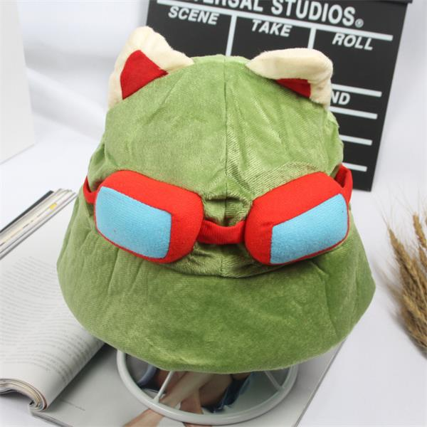 League of Legends LoL Teemo Hat Cosplay Plush Toy