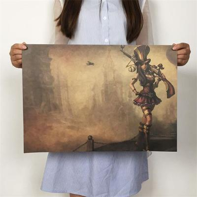 League of Legends LoL Caitlyn HD Poster