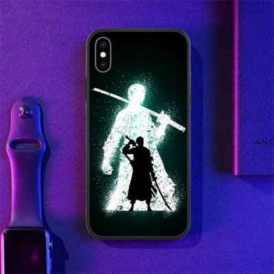 One Piece Zoro LED Phone Case For iPhone