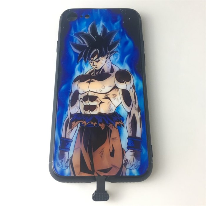 Dragon Ball Goku LED Colorful Glowing Phone Case For iPhone