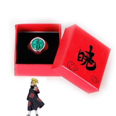 Anime Naruto Ring With Box Cosplay Costume Accessories