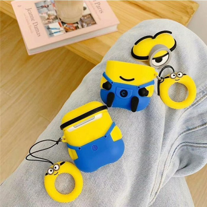 Minions Protective Case For Airpods 1 and 2