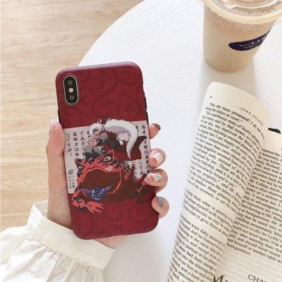 Anime Naruto Jiraiya Phone Case For iPhone