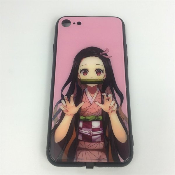 Demon Slayer Nezuko LED Phone Case For iPhone