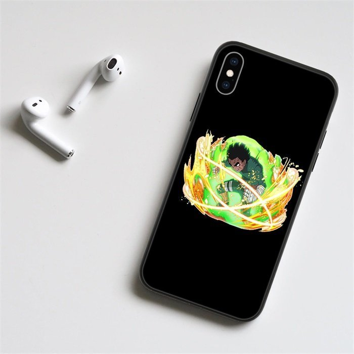 Anime Naruto Rock Lee LED Phone Case For iPhone