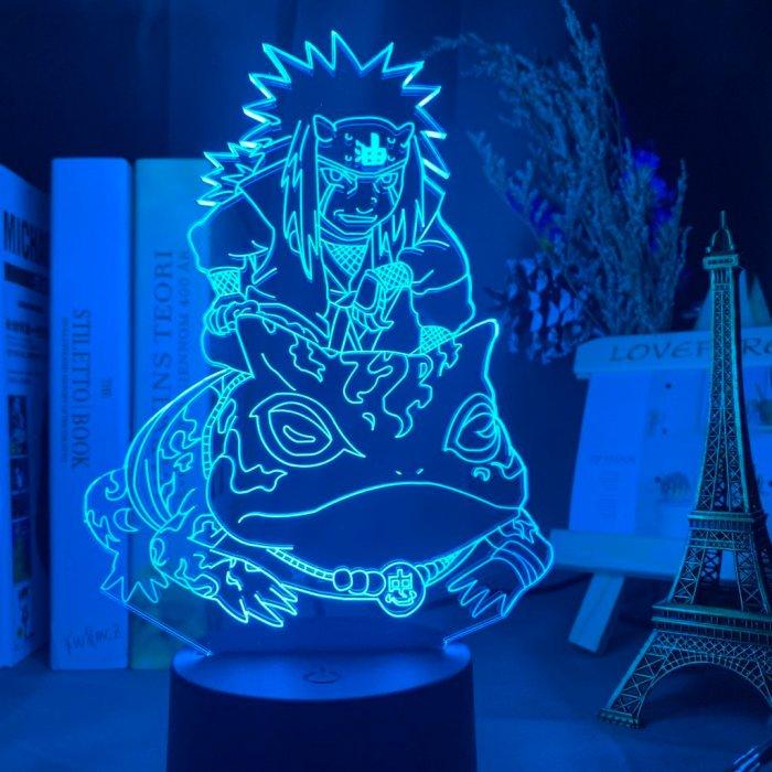 Anime Naruto Jiraiya 16 Colors Table Lamp