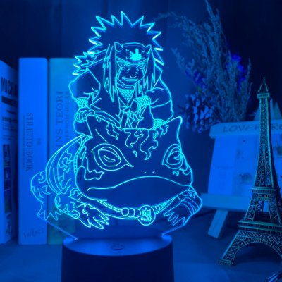 Anime Naruto Jiraiya 16 Colors Table Lamp
