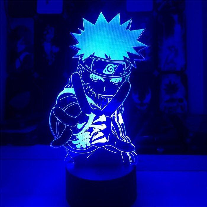 Naruto 16 Colors Table Lamp
