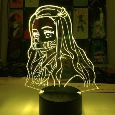 Demon Slayer Nezuko 16 Colors Table Lamp