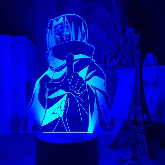 Anime Naruto Itachi 16 Colors Table Lamp