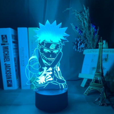 Naruto 16 Colors Table Lamp