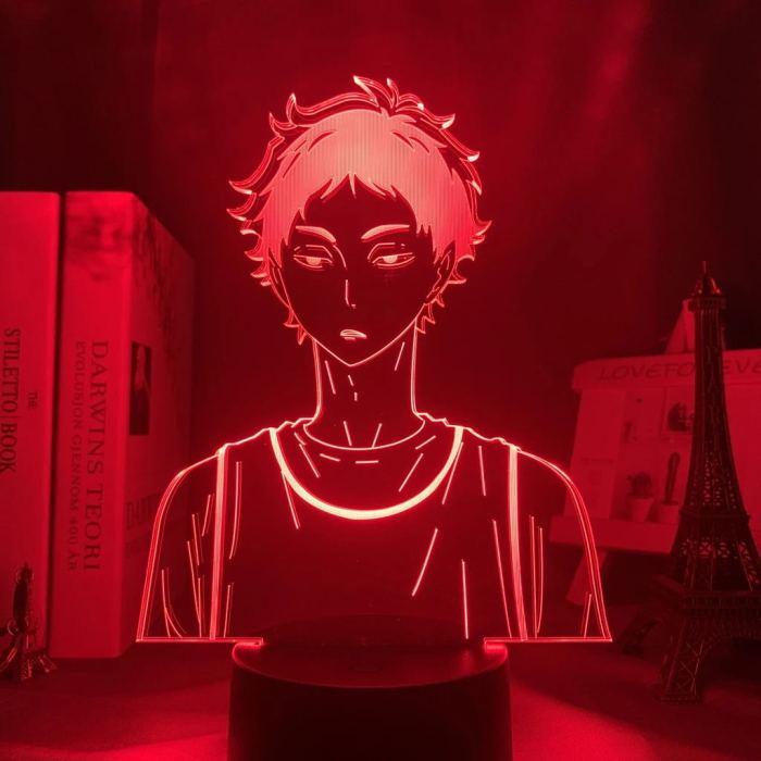 Anime Haikyuu!! Akaashi 16 Colors Table Lamp