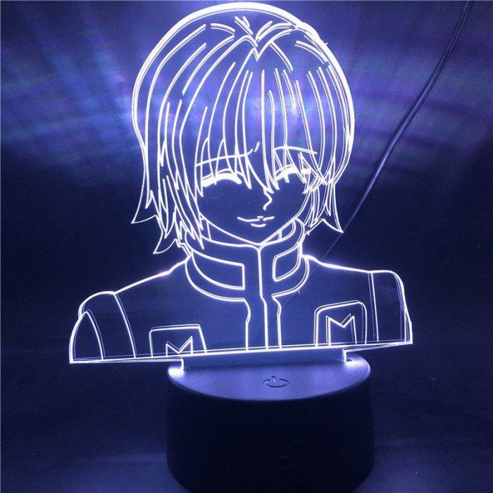 Hunter × Hunter Kurapika 16 Colors Table Lamp