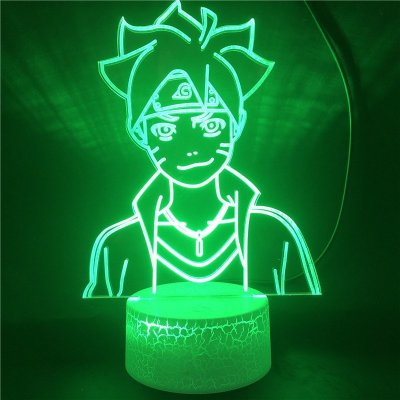 Anime Naruto Boruto 16 Colors Table Lamp