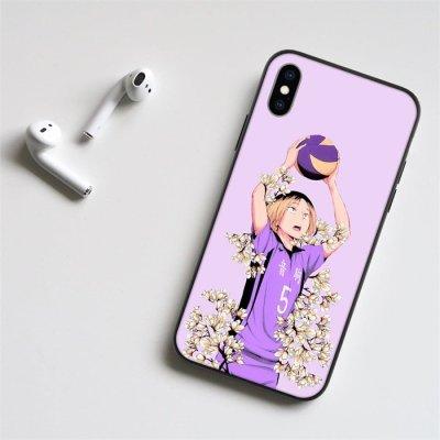 Anime Haikyuu!! Kenma LED Phone Case For iPhone