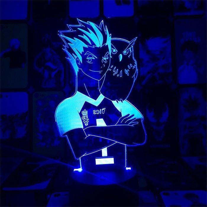 Anime Haikyuu!! Bokuto 16 Colors Anime Lamp