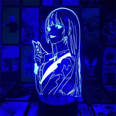 Anime Kakegurui Yumeko 16 Colors Anime Lamp