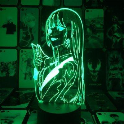 Anime Kakegurui Yumeko 16 Colors Anime Lamp