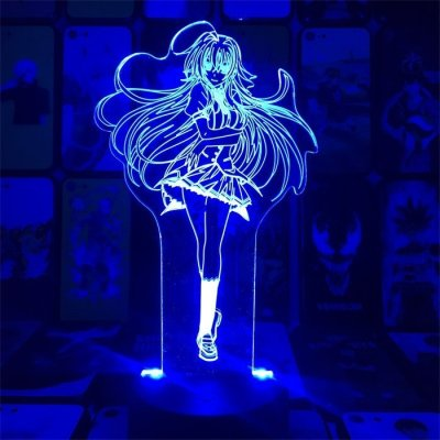Anime High School DxD Rias 16 Colors Anime Lamp