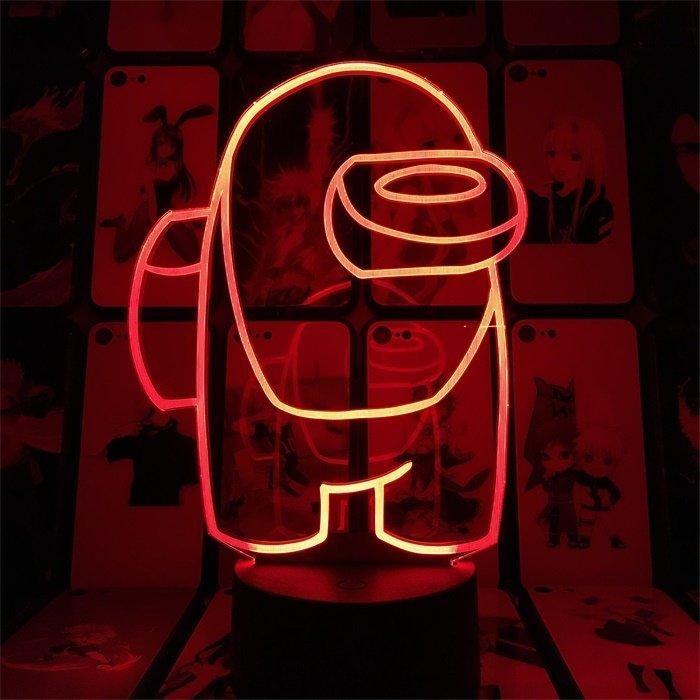 Among Us 16 Colors Table Lamp