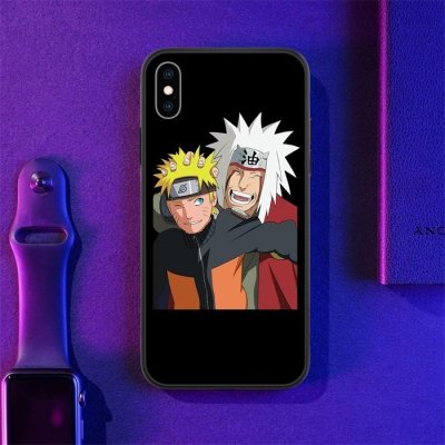 Naruto and Jiraiya LED Phone Case For iPhone
