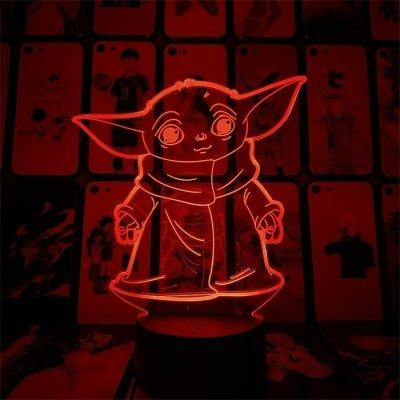 Yoda 16 Colors Table Lamp