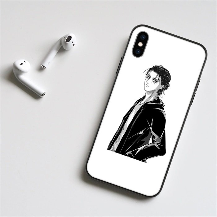 Anime Attack on Titan Eren LED Phone Case For iPhone