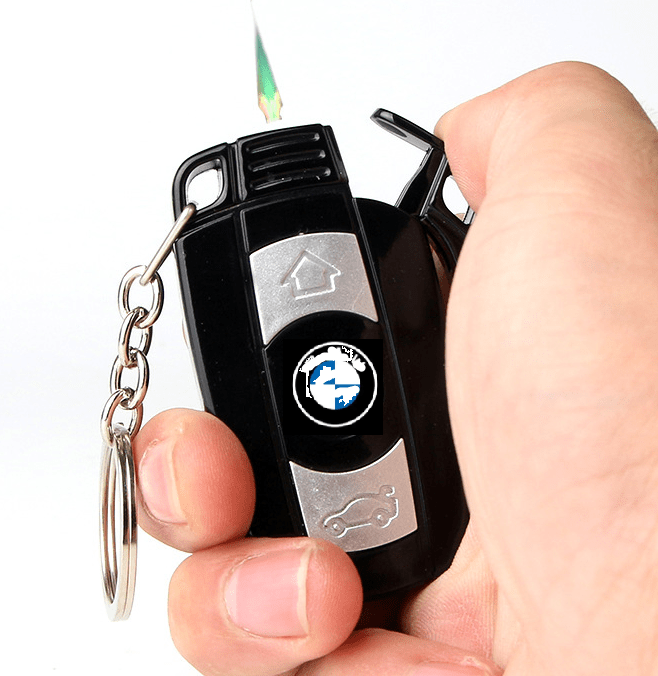 BMW car key windproof lighter