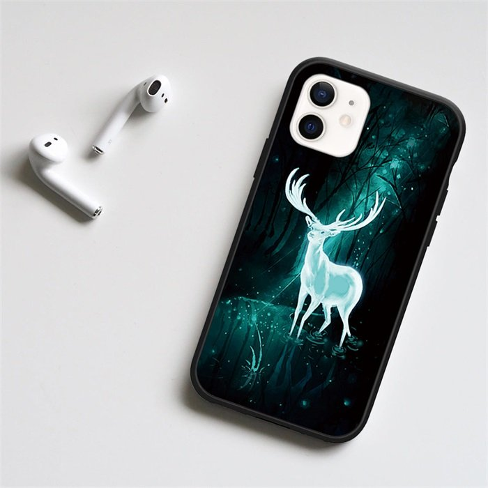 White Deer LED Phone Case For iPhone
