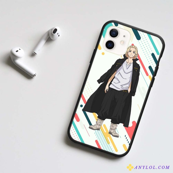 Tokyo Revengers Mikey LED Phone Case For iPhone
