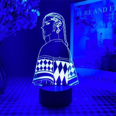 Tokyo Revengers Draken 16 Colors Table Lamp