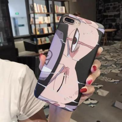 Kakashi Eyes Soft Phone Case For iPhone