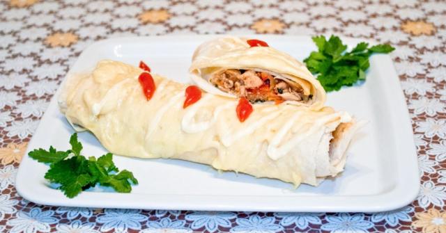Буррито с индейкой – традиции мексиканской кухни