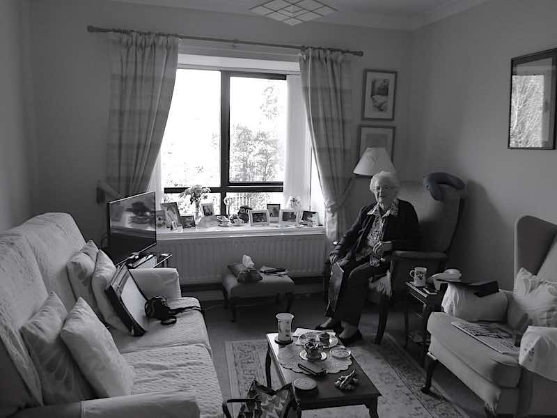 sheltered accommodation safe and comfortable