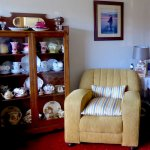 love suite and display cabinet