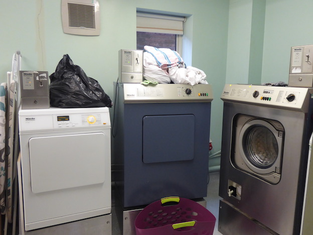 laundry room in centre