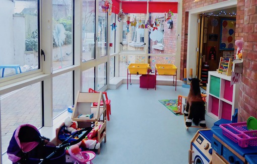 children's indoor play space