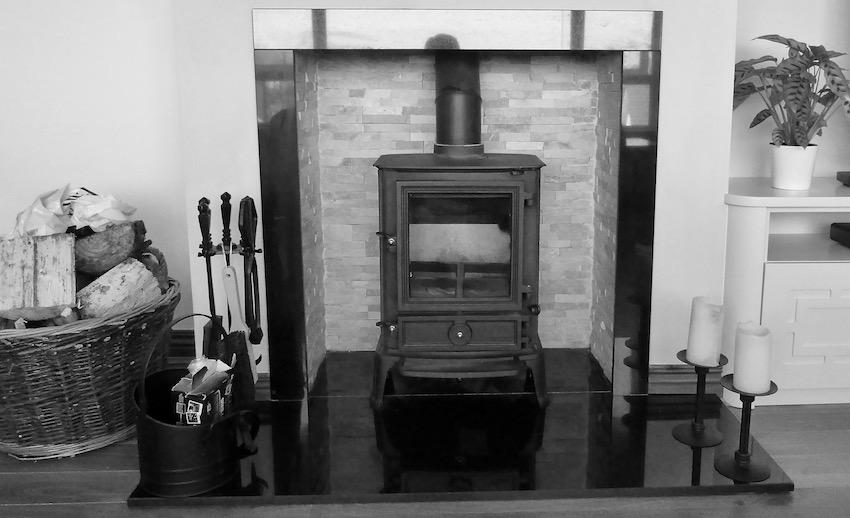 wood burning stove