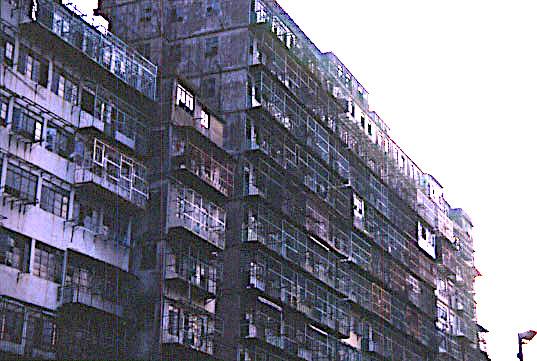 dense housing block