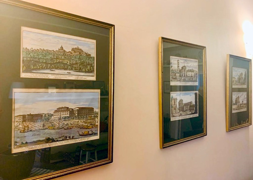 3 prints of ancient Rome