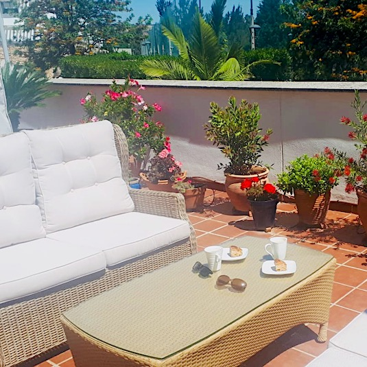 terrace furniture spain