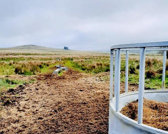 irish landscape view
