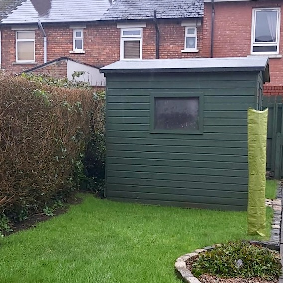 my own garden shed and houses